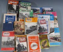 Railway magazines, books and ephemera including The Railway Magazine 1929, Train Illustrated c