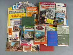 Railway books including some original BR booklets and a quantity of railway postcards