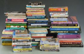 Approximately 100 railway interest books and DVDs including American railroad, Great Western and The