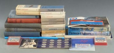 Approximately 20 aircraft related books including Royal Air Force, Observers Book of Aircraft,