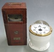 Sestrel binnacle compass with impressed marks for Henry Browne and Son, Barking and London,