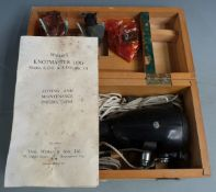 Walkers 'Knotmaster' Log Mark III, model KDO in fitted wooden case with instructions and
