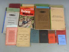 Railway interest ephemera including British Railways publications, many relating to the North
