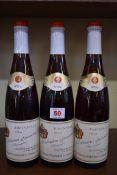 Three 70cl bottles of Kallstadter Steinacker Beerenauslese, 1976, St Nikolaus. (3)