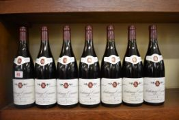 Seven 75cl bottles of Santenay-Comme 1er Cru, 1995, Jean-Claude Belland. (7)