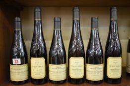 Six 50cl bottles of Coteaux de Layon Selection Grains Nobles, Philippe Delesvaux, comprising: