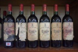 Six 75cl bottles of Chateau Monbrison, 1988, Cru Bourgeois Margaux. (6)PLEASE NOTE: ADDITIONAL VAT