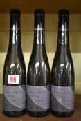 Three 37.5cl bottles of Tokay Pinot Gris Vendanges Tardives, 1989, Jean Schaetzel. (3)