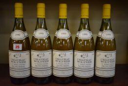 Five 75cl Chateau Woltner St Thomas Vineyard Chardonnay, 1990, California. (5)