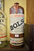 A large old stoneware bottle of Z.O Genever Bols, approx 4 litres.