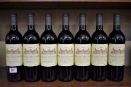Seven 75cl bottles of Chateau Beaumont, 1996,Cru Bourgeois Haut-Medoc. (7)