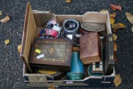 A mixed lot, to include: silver plate, watches and sundry. This lot can only be collected on