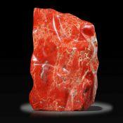 Minerals/Interior Design: A massive red jasper freeformSouth Africa67cm, 163kg