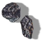 Minerals/Interior Design: Two Campo di Cielo meteoritesArgentinathe largest 9cm
