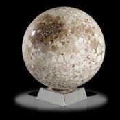 Minerals/Interior Design: An exceptionally large Cobra jasper sphere25cm diameter