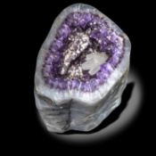 Minerals/Interior Design: A Rose amethyst specimenBrazil29cm by 27cm