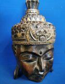 Large Decorative Buddha Head