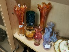 Collection of Art Glass inc Carnival, Whitefriars & Caithness