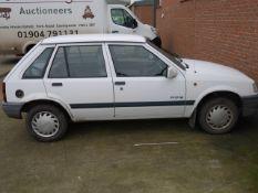 Vauxhall Nova 1.2 Merit Hatchback Car 64k miles, not mot or tax but starts 1st time, barn find