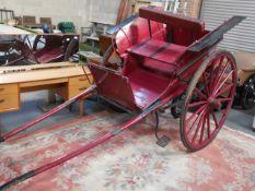 Vintage Horse-Drawn Cart