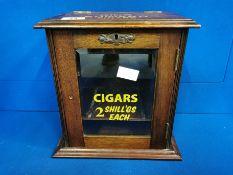 King Edward Cigars Shop Display Cupboard - 29cm high