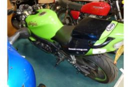 Kawasaki ZX750 - P5 2001 Y189 UOG March 2001 23,646 miles in good overall condition