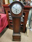 Oak Grandmother Clock - 123cm high