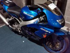 Kawasaki ZX900 - C2 1999 T744 RAA March 1999 11,083 miles, good overall condition, slight dent on