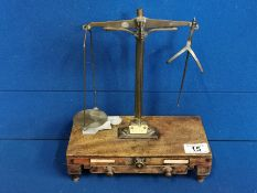 Antique Set of Apothecary Scales