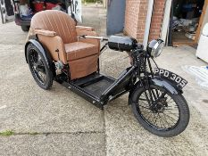 The Argson Tricycle - 36v Electric Invalid Carriage Model 36e - Registration PPD 305