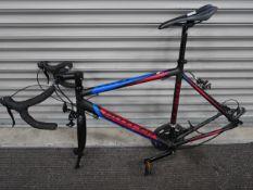 Claude Butler Gent's carbon fibre bike (no tyres)