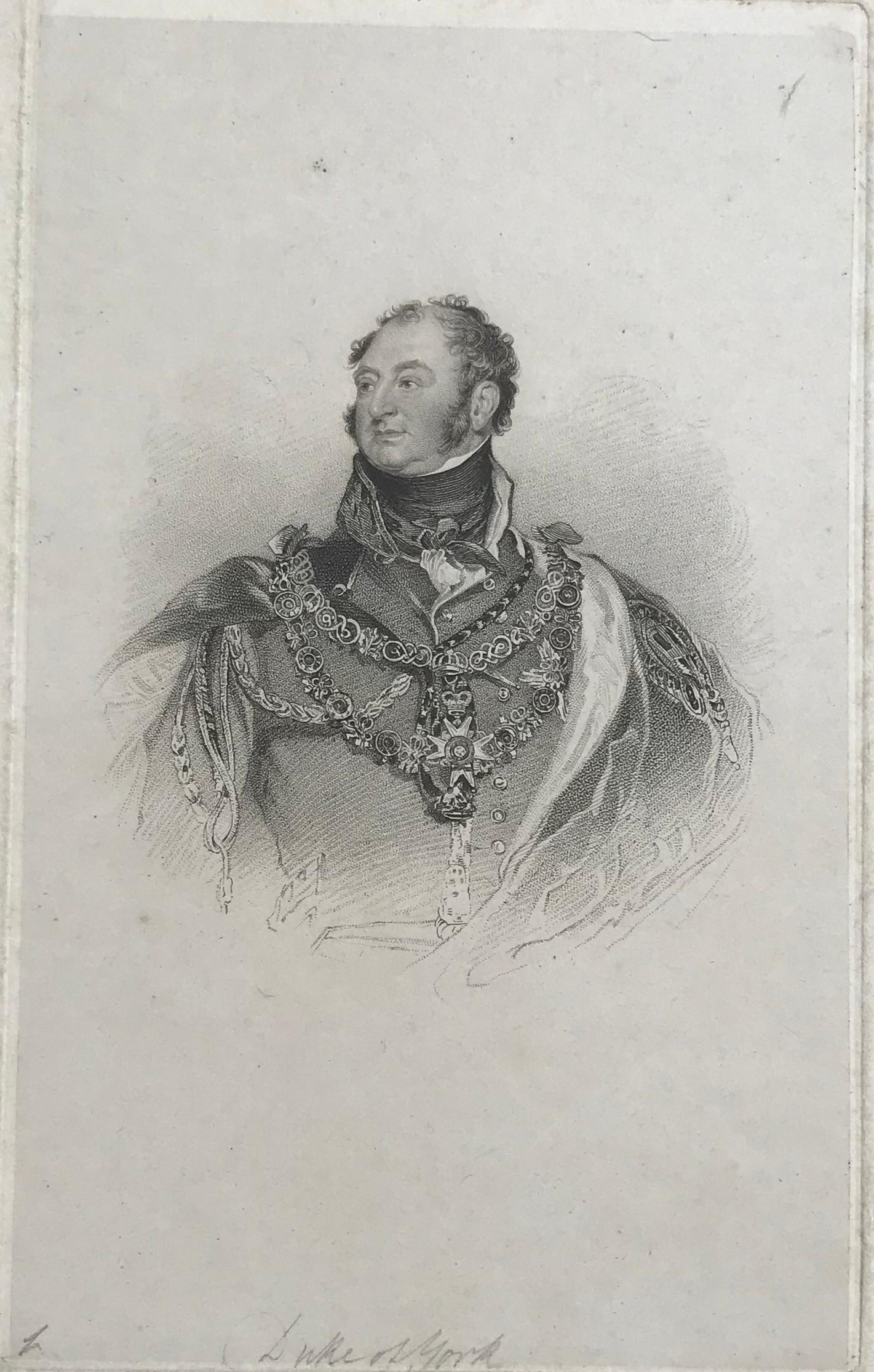 Lot 591 - AFTER SIR THOMAS LAWRENCE, 19TH CENTURY PROOF ETCHING/ENGRAVING BEFORE LETTERS Portrait of his Royal