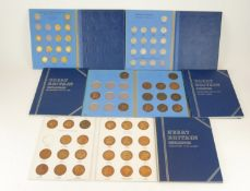 A COLLECTION OF 20TH CENTURY BRITISH SILVER COINS Shillings from 1953, sixpence along with others,