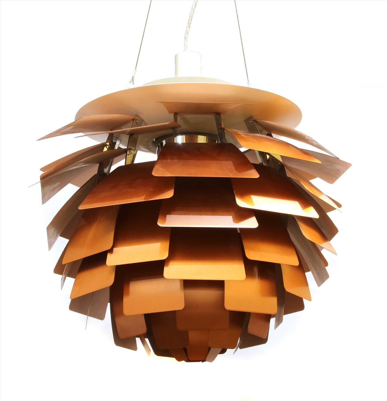 Lot 445 - An 'Artichoke' pendant lamp,