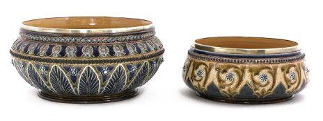 A Royal Doulton stoneware fruit bowl,