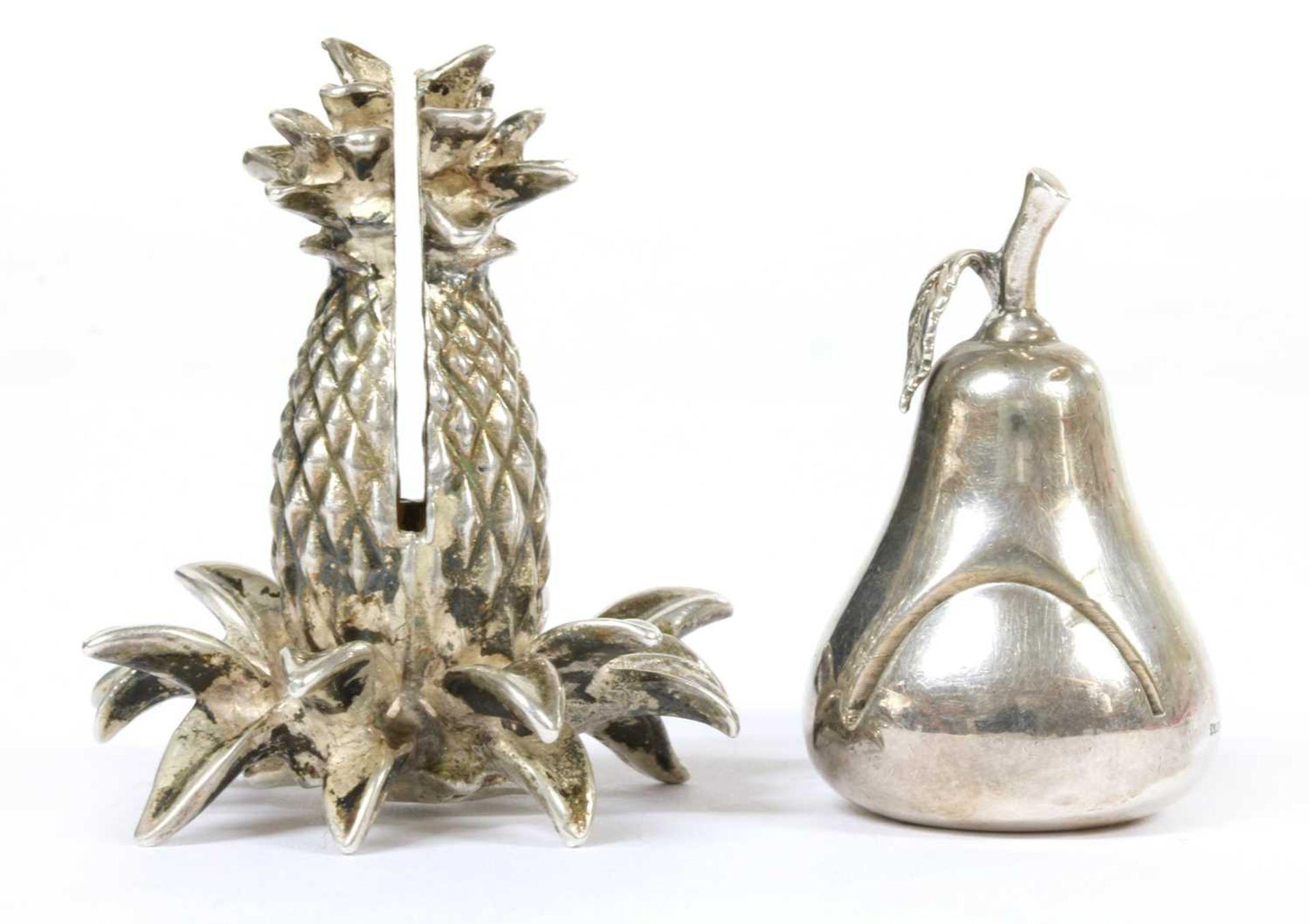 Two silver menu holders, by Tiffany & Co, - Bild 2 aus 2