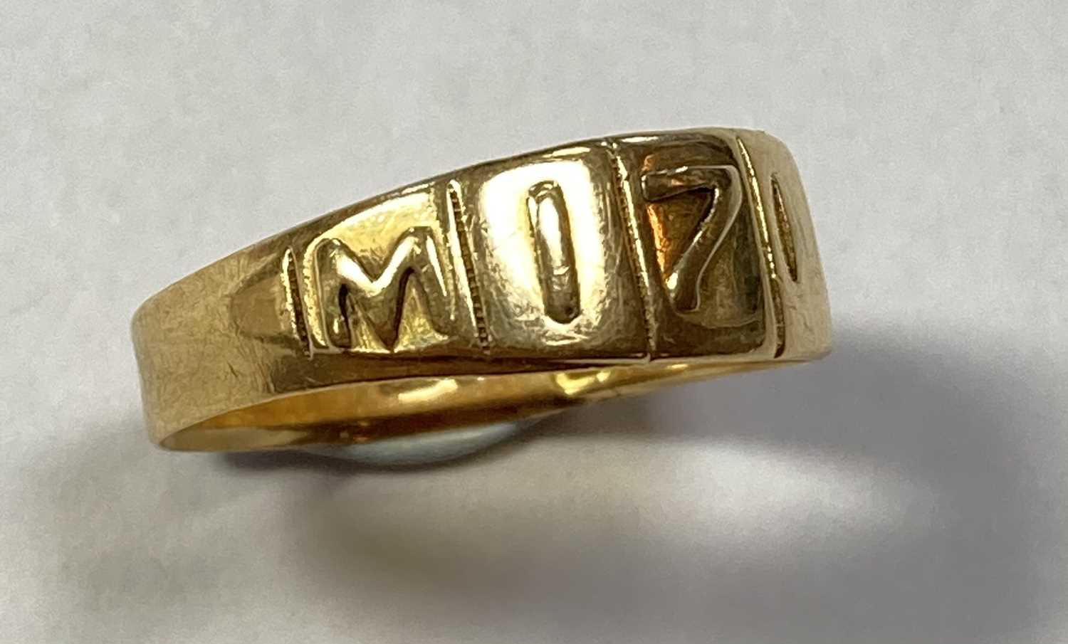 A Victorian 18ct gold Mizpah ring, - Image 2 of 4