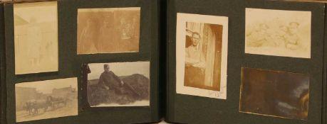 A London regiment World War One photograph album