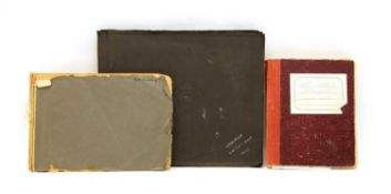 Three albums of Military service in India and Egypt,