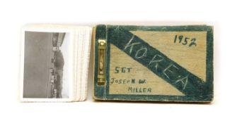 An American soldiers poignant Korean war photo album,