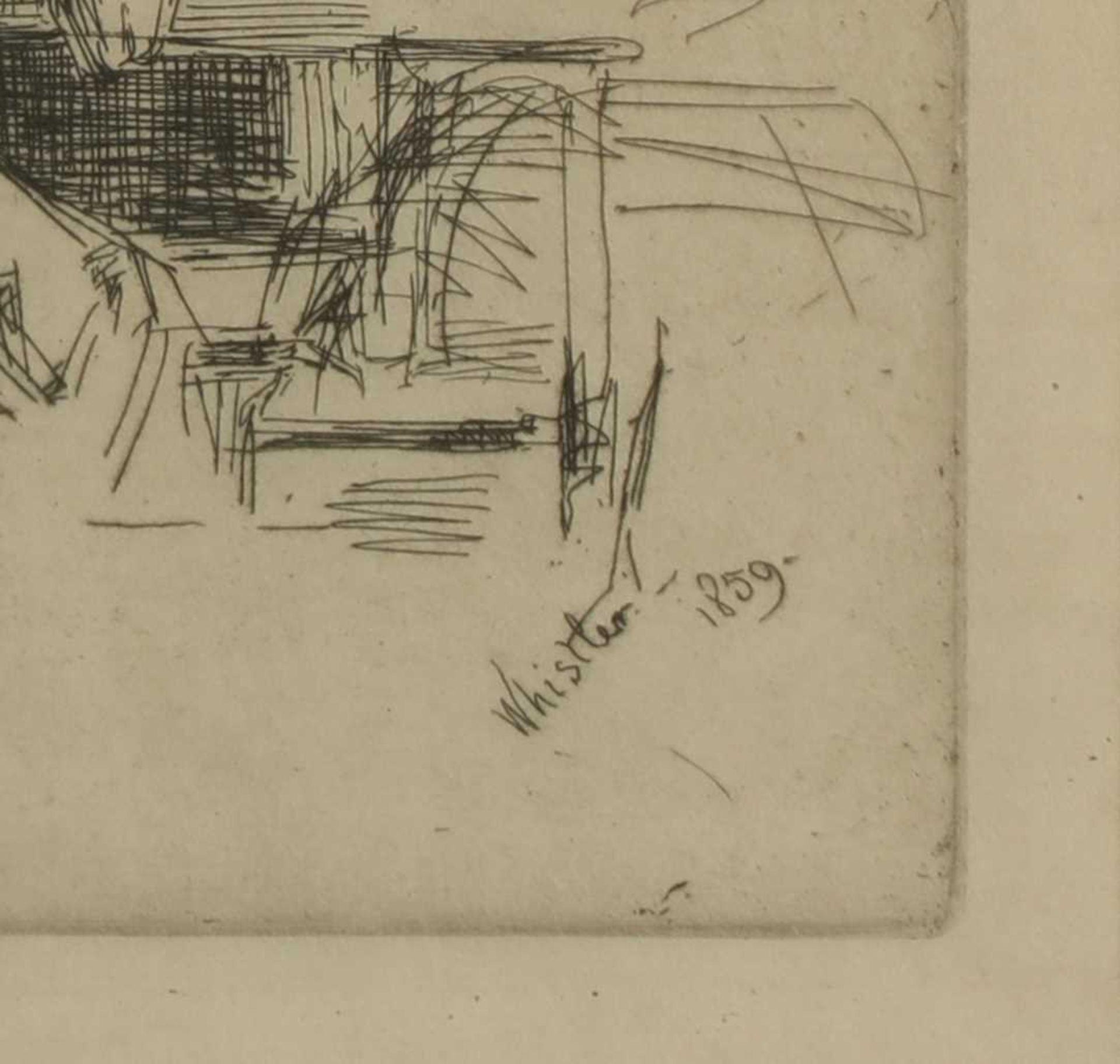 JAMES ABBOTT MCNEILL WHISTLER (1834-1903) - Image 3 of 3