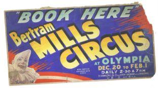 'BERTRAM MILLS CIRCUS',