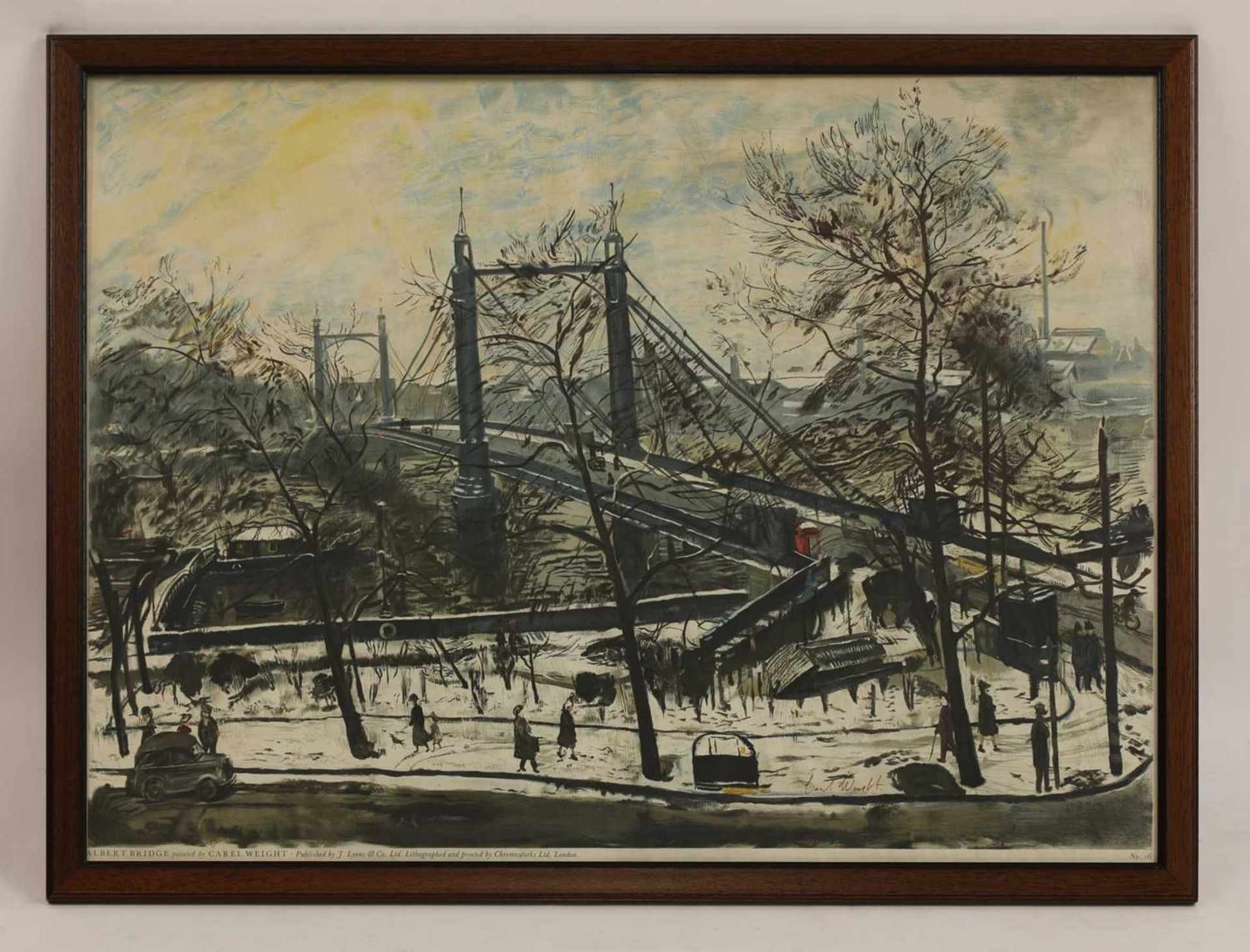 *CAREL WEIGHT (1908-1997) - Image 2 of 3