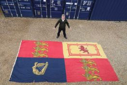 A RARE ROYAL STANDARD FLAG,