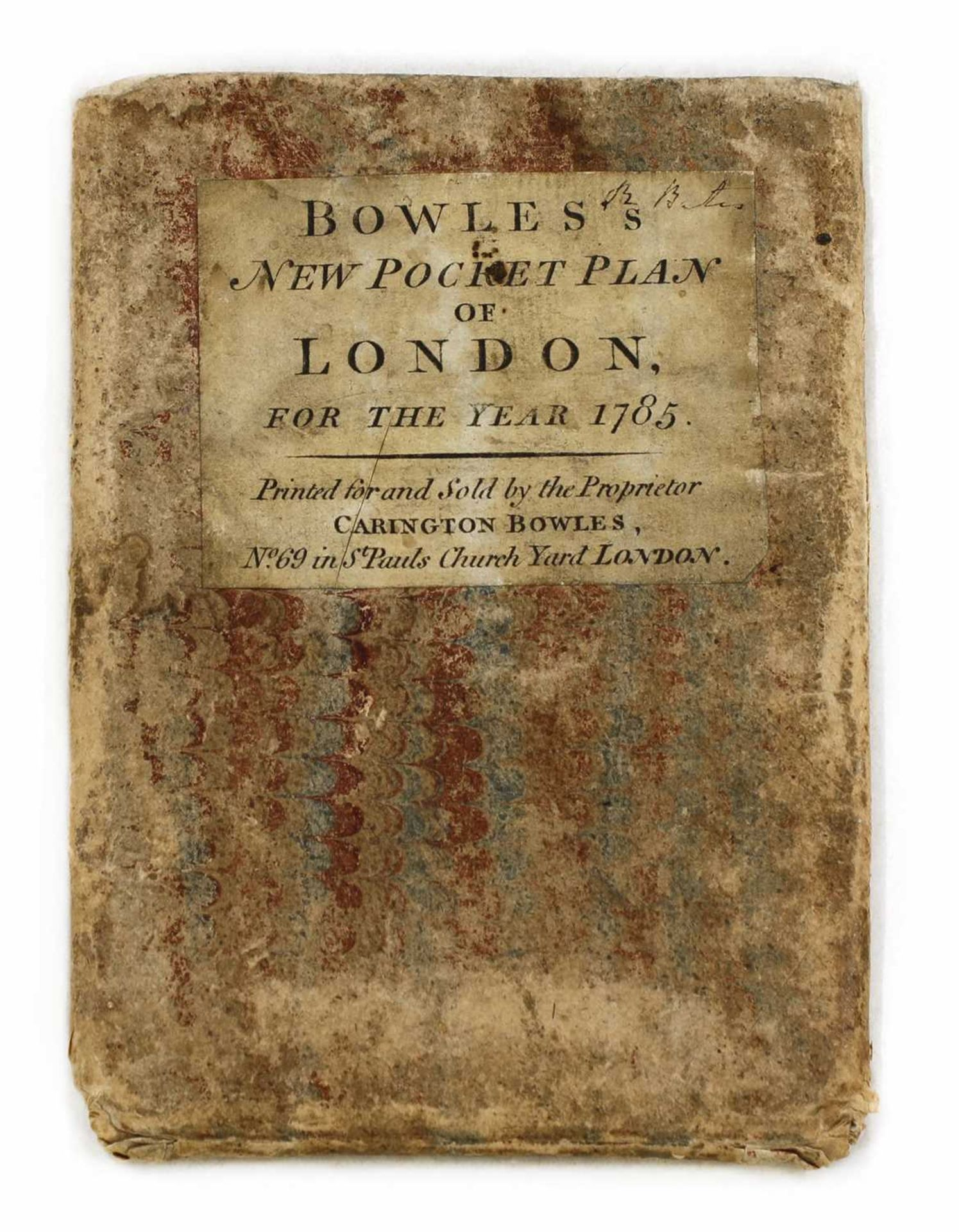 BOWLE'S REDUCED NEW POCKET PLAN OF THE CITIES OF LONDON AND WESTMINSTER 1785, - Image 2 of 2