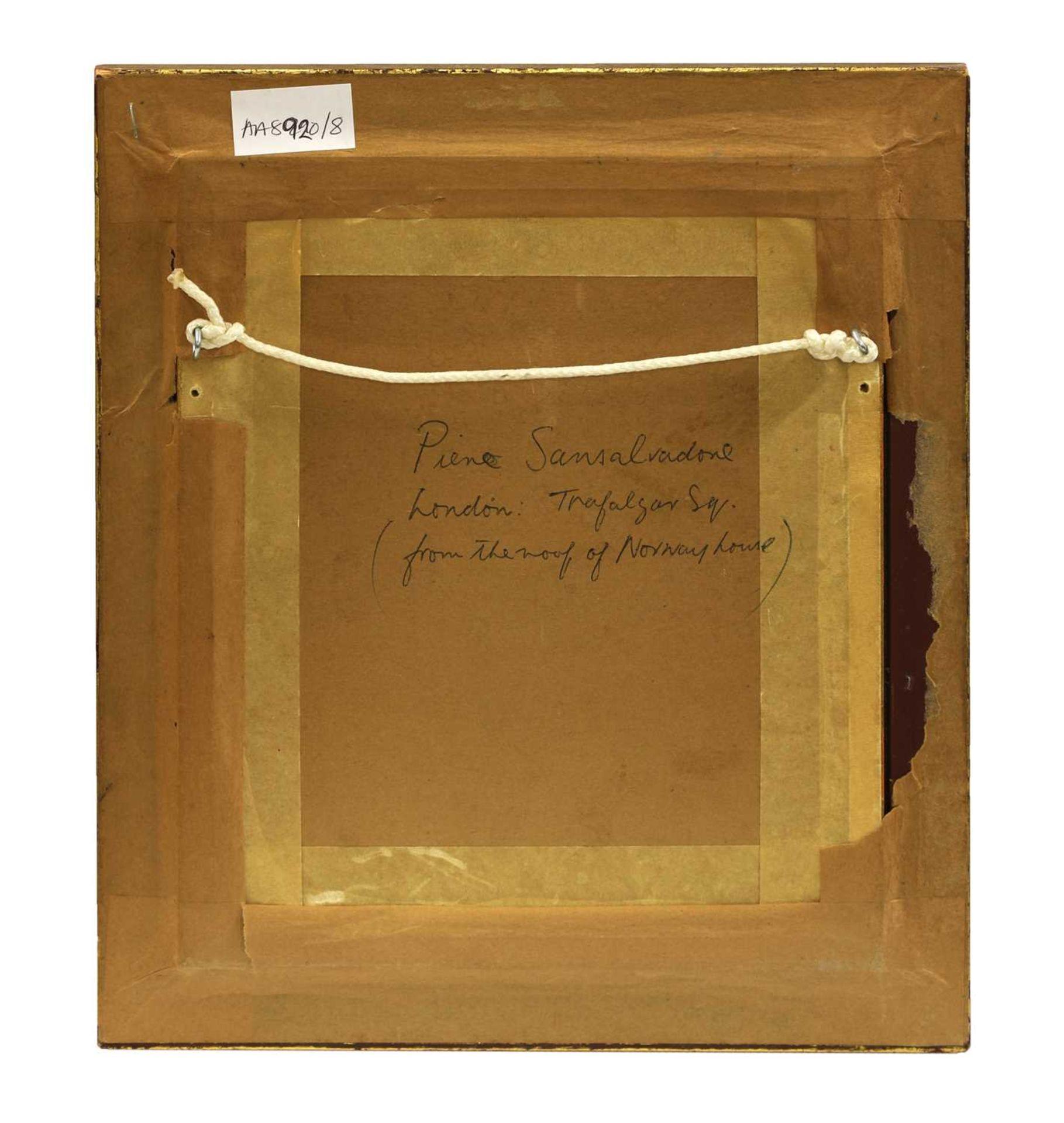 *PIETRO SANSALVADORE (Italian, 1892-1955) - Image 3 of 4