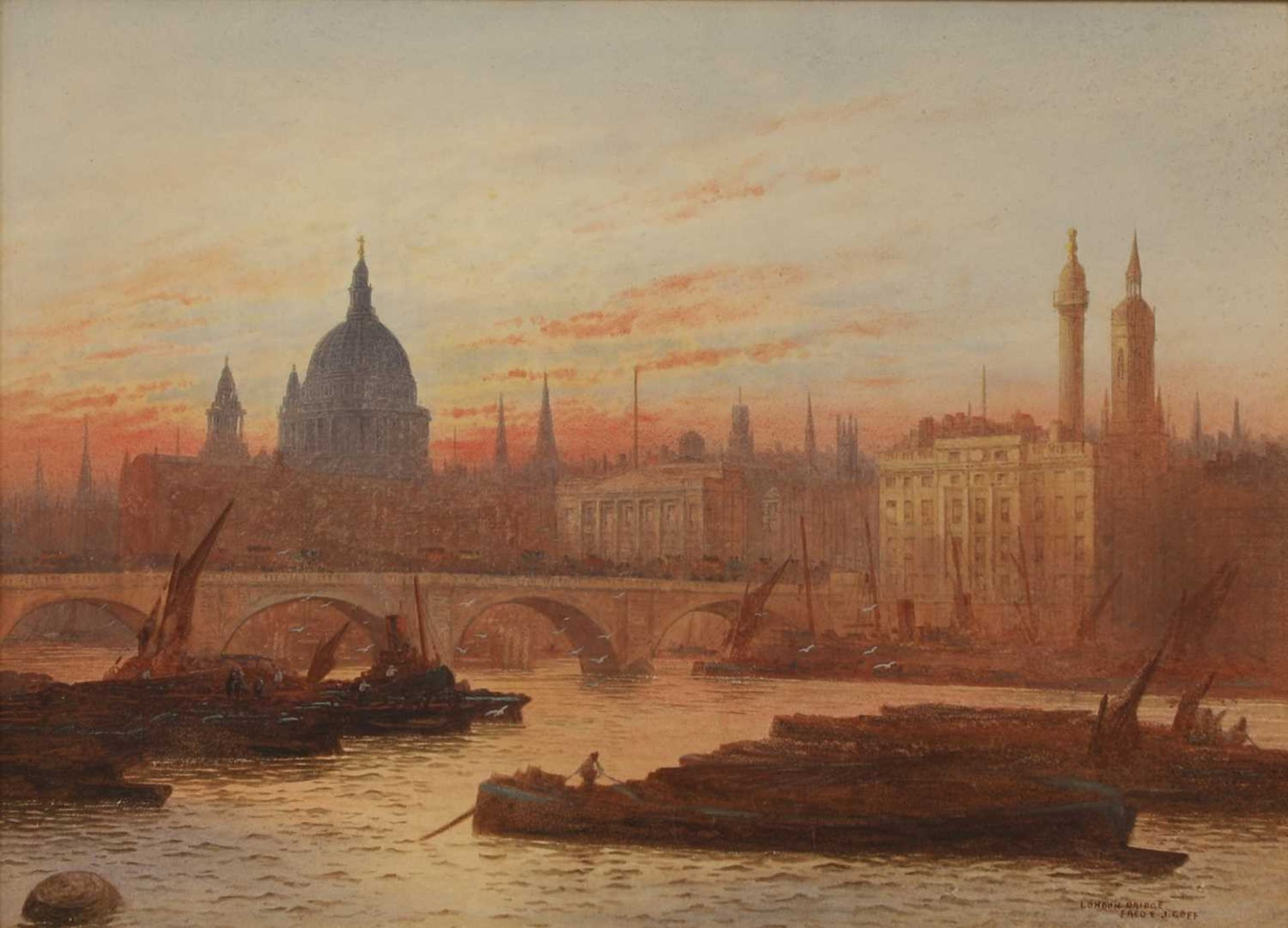 FREDERICK EDWARD JOHN GOFF (1855-1931)