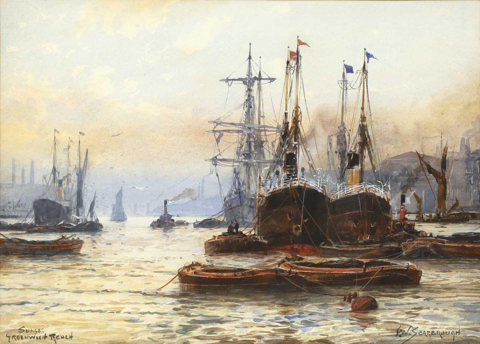 FREDERICK WILLIAM SCARBOROUGH (1860-1939) - Image 2 of 8