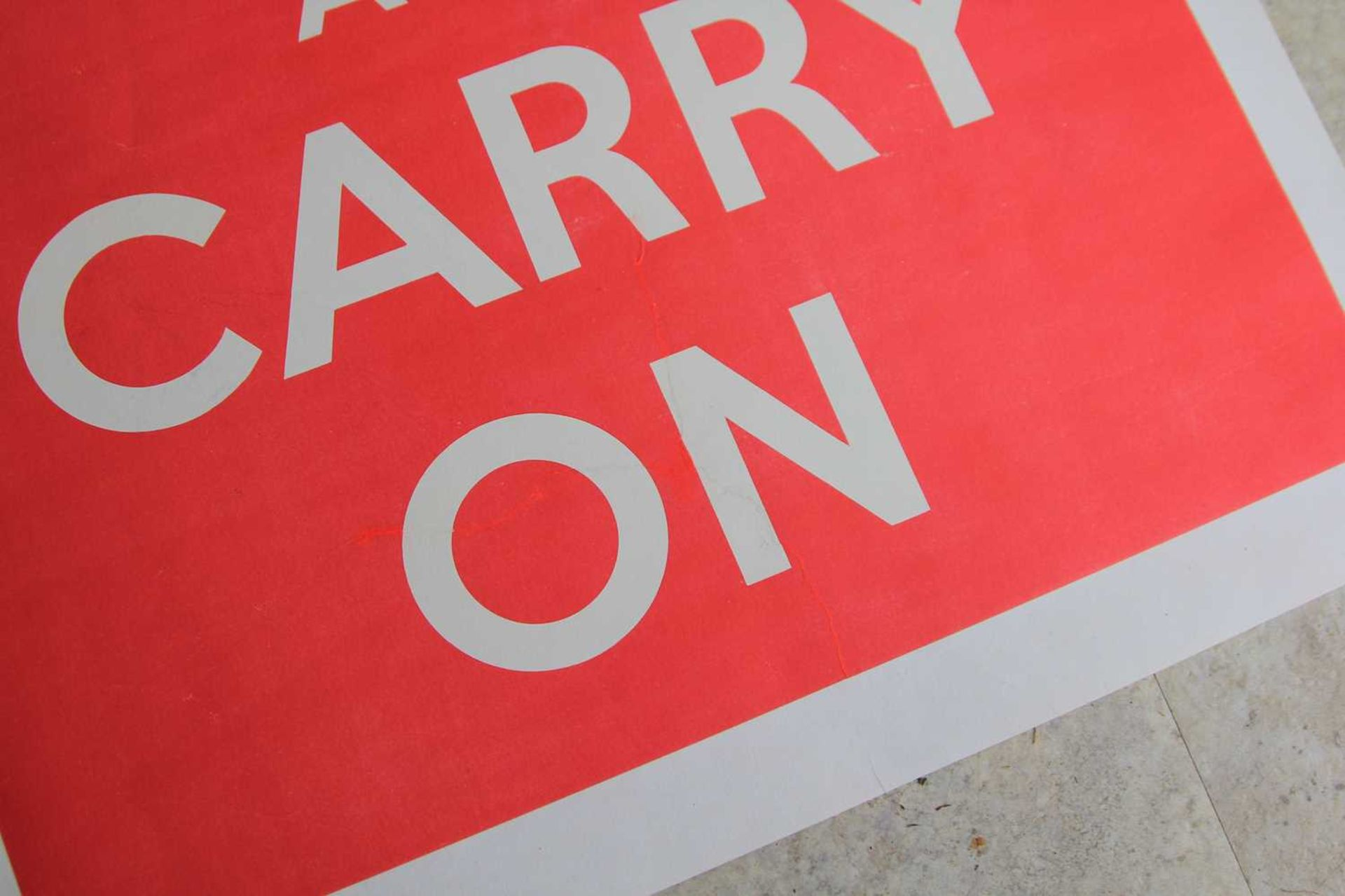 'KEEP CALM AND CARRY ON' - Image 4 of 5