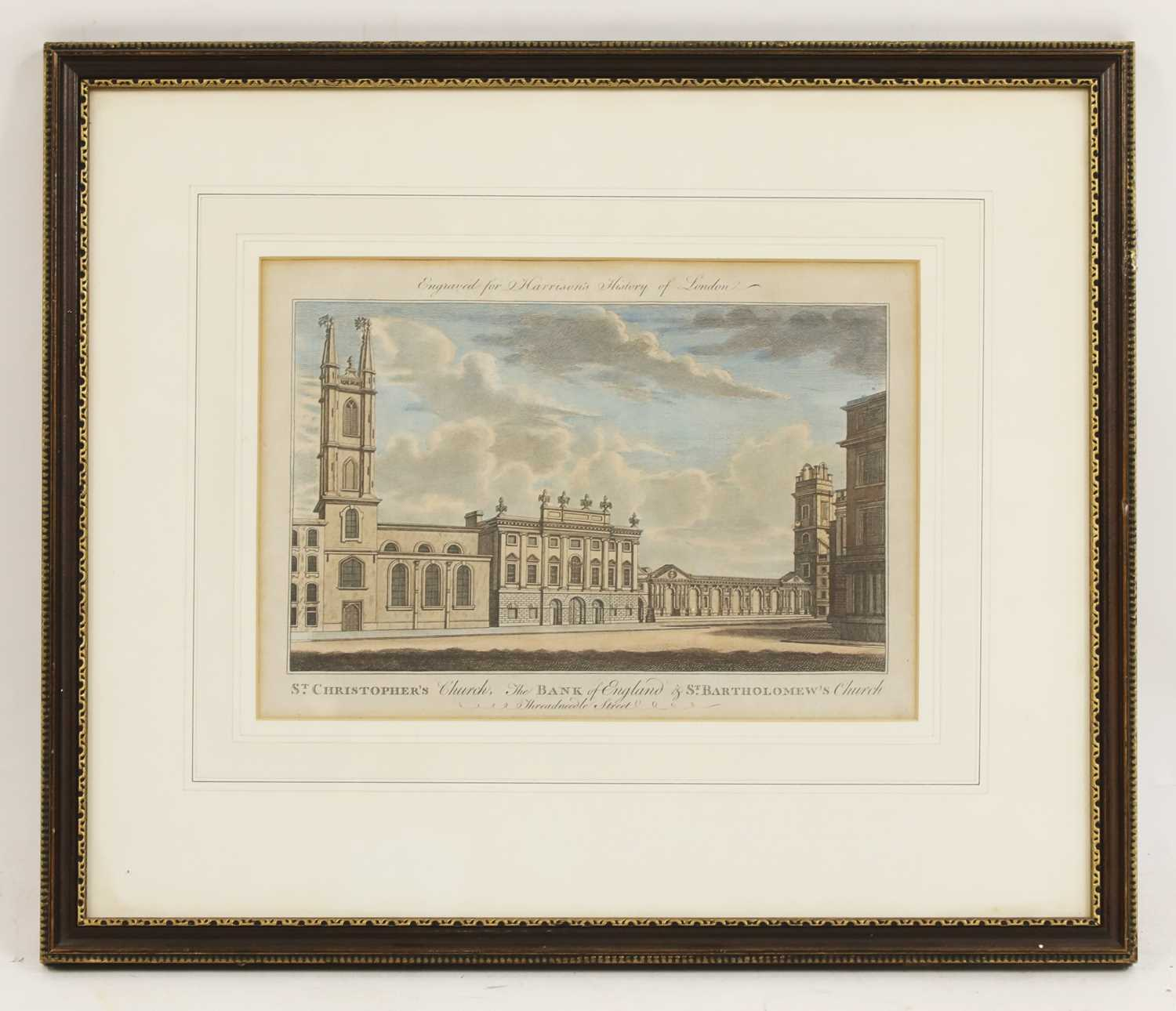 ST CHRISTOPHER'S CHURCH, THE BANK OF ENGLAND AND ST BARTHOLOMEW'S CHURCH - Image 4 of 4